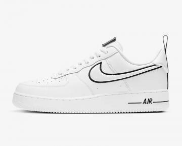 Nike Air Force 1 Low White Black Running Shoes DH2472-100