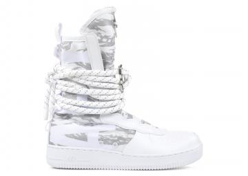 Nike Air Force 1 Sf Af1 High Prm Winter Camo White AA1130-100