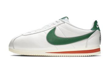 Stranger Things x Nike Cortez Hawkins High White Green Orange CJ6106-100
