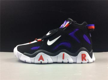 Nike Air Barrage Mid QS Raptors Black White Purple CD9329-001