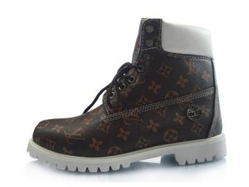Timberland Custom Boots Men Brown White