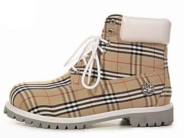 Timberland Custom Varsity Boots Wheat White For Men