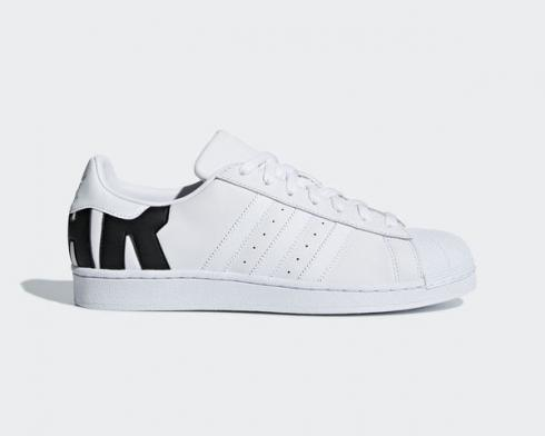 Adidas Superstar Big Logo Footwear White Core Black B37978
