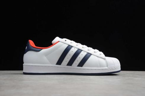 Adidas Superstar Cloud White Core Black Red FV2870