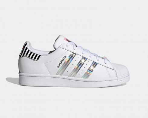 Adidas Wmns Superstar Bold Cloud White True Pink Core Black FY5131