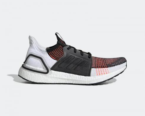 Adidas UltraBoost 20 19 Solar Orange Core Black Cloud White G27519