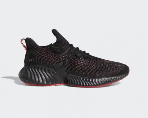 Adidas AlphaBoost Instinct Red Core Black Running Shoes D96536