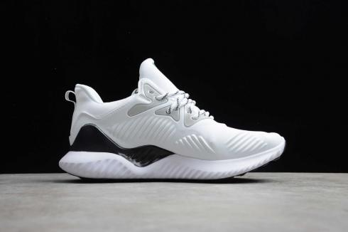 Adidas AlphaBounce Beyond Cloud White Core Black Running Shoes B76052