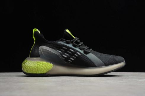 Adidas AlphaBounce Instinct Black Green Shoes CG3402