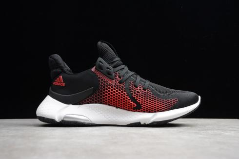 Adidas Alphabounce Instinct Black Red White Shoes EH3390