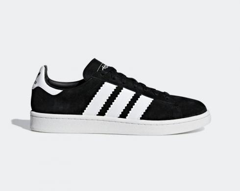 Adidas Campus Core Black Cloud White Running Shoes BD7471