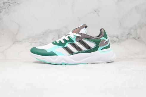 Adidas Futureflow Glory Mint Footwear White Green Shoes FW7195