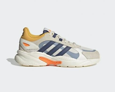 Adidas Neo Crazychaos Shadow Cloud White Blue Orange Shoes FY7821