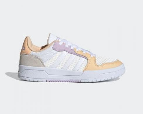 Adidas Neo ENTRAP Cloud White Yellow Purple Shoes FX3980