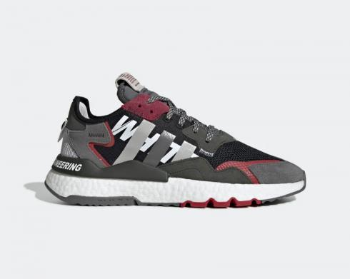 Adidas Nite Jogger Grey White Mountaineering Core Black Legend Earth EG1686