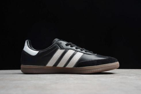 Adidas Originals Samba OG FT Core Black Cloud White Gold EE5457