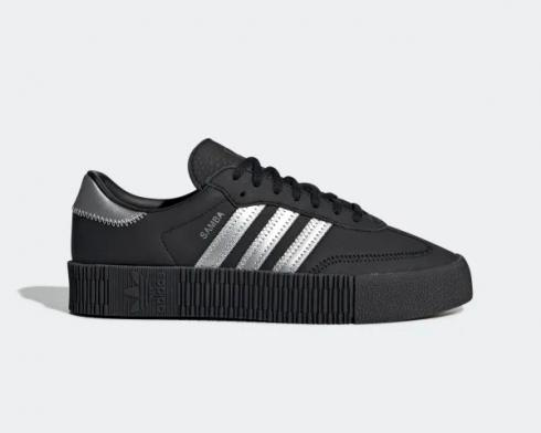 Adidas Originals Sambarose Core Black Silver Metallic EE4682