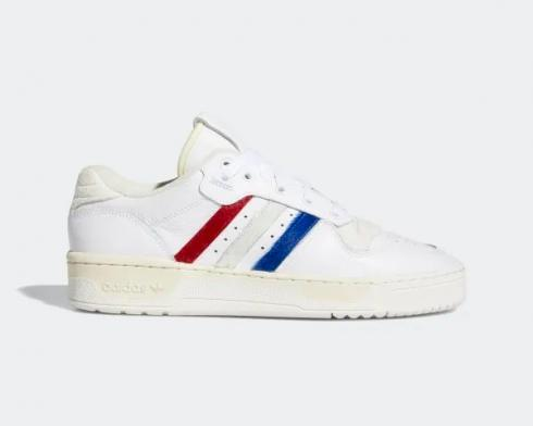 Adidas Originals Sneakers Rivalry Low White Red Blue EE4961