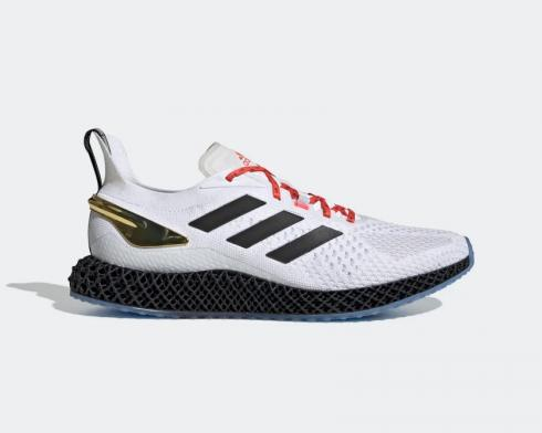 Adidas Originals X90004d Cloud White Core Black Solar Red FY2305