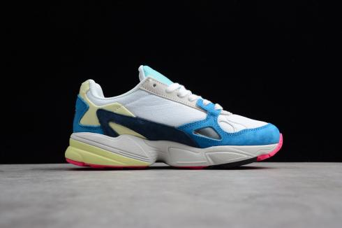 Adidas Originals Yung-96 Cloud White Blue Yellow Solar Red BB9178