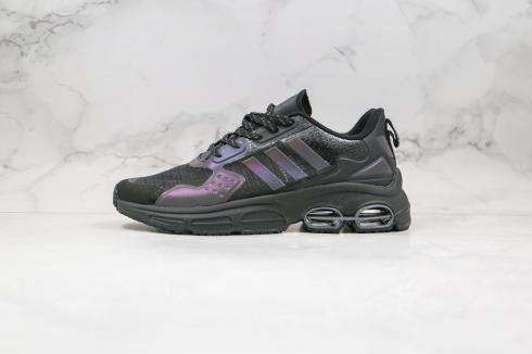 Adidas QUADCUBE Core Black Reflective Running Shoes FG7173
