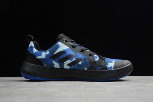 Adidas Terrex Boat S.RDY Core Black Blue Shoes EH0353
