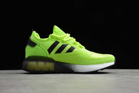 Adidas ZX 2K Boost Green Black White FV7465