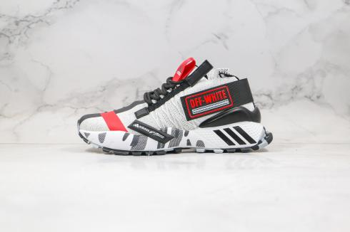 Off-White Adidas Wmns Seeulater Core Black Cloud White Red EF6605
