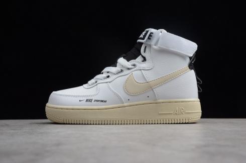 Nike Air Force 1 High Utility White Light Cream AJ7311-100 - Febshoe