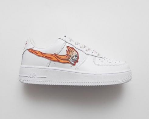 Nike Air Force 1 Low Classic Low All Match Skate Mens Shoes 823512-100