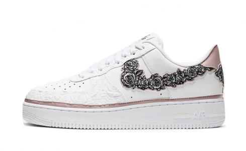 Nike Air Force 1 Low Doernbecher 2019 Zion Thompson White Stone Mauve Black CV2591-100