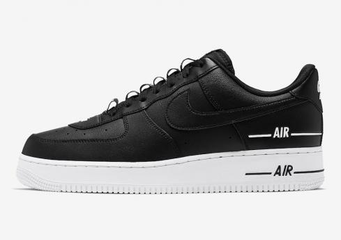 Nike Air Force 1 Low Double Air Low Black White Shoes CJ1379-001