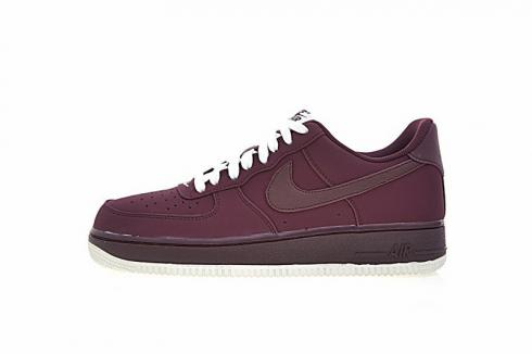 Nike Air Force 1 Low Night Maroon Mens Running Shoes 820266-604