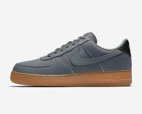 Nike Air Force 1 Low Premium Grey Gum Flat Pewter Med Brown AQ0117-001