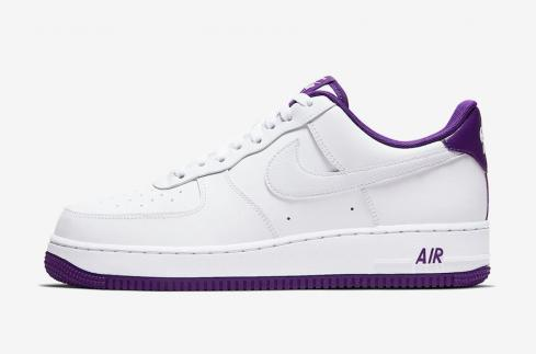 Nike Air Force 1 Low Voltage Purple White Mens Shoes CJ1380-100