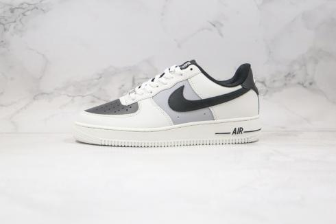 Nike Air Force 1 Upstep Black White Casual Sport Shoes AH0287-211