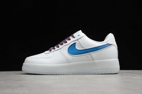 Nike Air Force 1 Upstep White The Colours Of The Rainbow AH0287-208