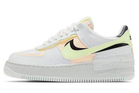 Nike Wmns Air Force 1 Shadow White Crimson Tint Black Barely CI0919-107