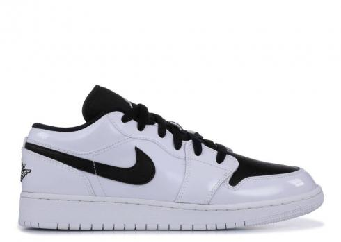 Air Jordan 1 Low Bg White Black 553560-103