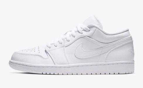 Nike Air Jordan 1 Low Pure White 553558-112