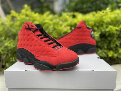 Air Jordan 13 Reverse Bred Gum Red Black Basketball Shoes DJ5982-602