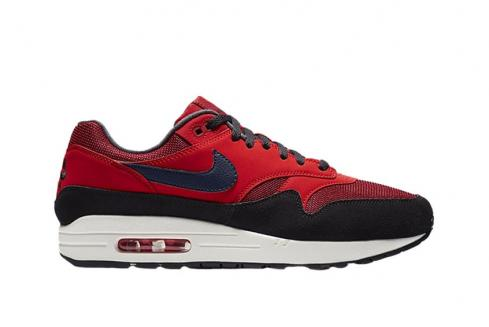 Nike Air Max 1 Red Crush Navy AH8145-600