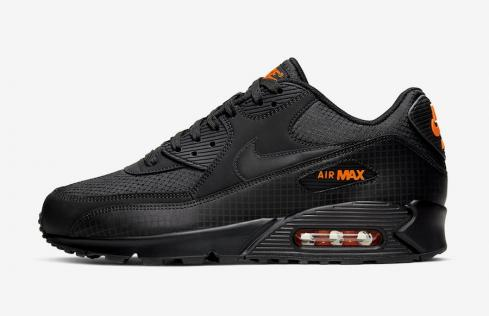Nike Air Max 90 Black Orange CT2533 001
