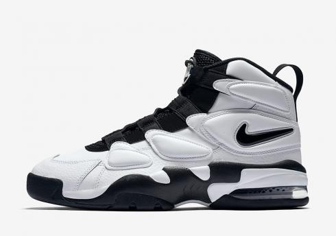 Nike Air Max2 Uptempo White Black Royal Blue Running Shoes 922934-102