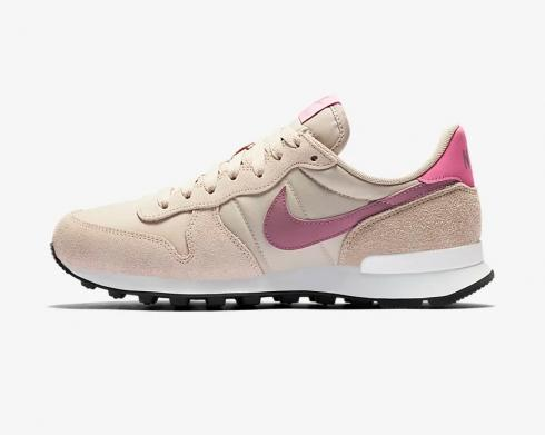 Nike Internationalist Fossil Stone Plum Dust Magic Flamingo Sneakers Womens Shoes 828407-214