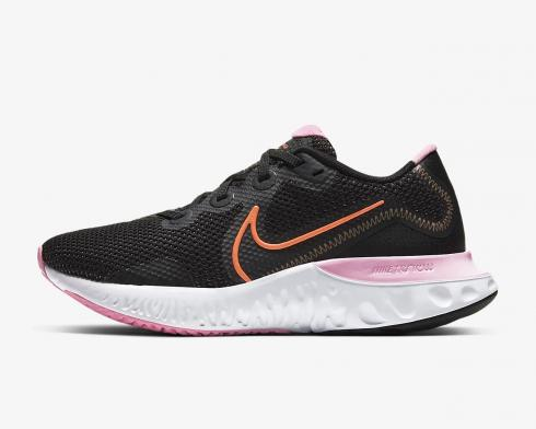 Nike Wmns Renew Run Black Orange Pulse White Pink CK6360-001