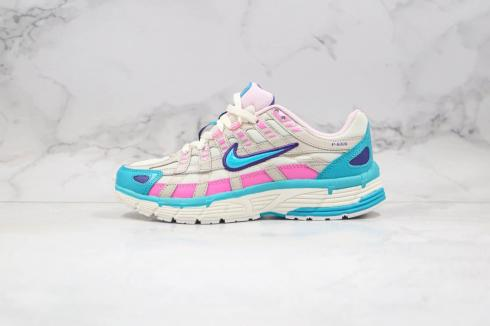Wmns Nike P-6000 Laser Fuchsia White Blue Pink Running Shoes CK2961-031