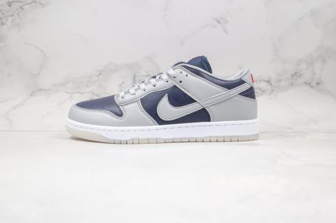 Nike SB Dunk Low SP College Navy Wolf Grey Blue Shoes DD1768-400