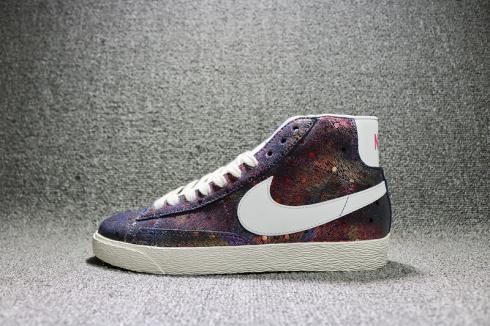 Exquisite Wmns Nike Blazer Mid Sde Colourful Spot Womens Shoes 822430-065