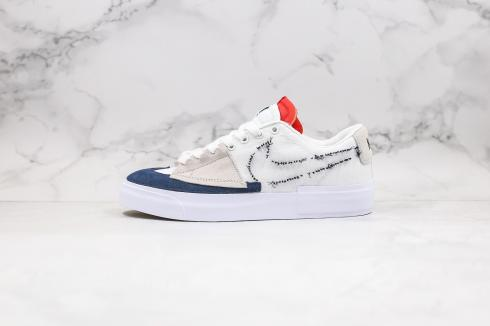 Nike SB Zoom Blazer Mid Edge Hack Pack White Blue Red CI8870-406